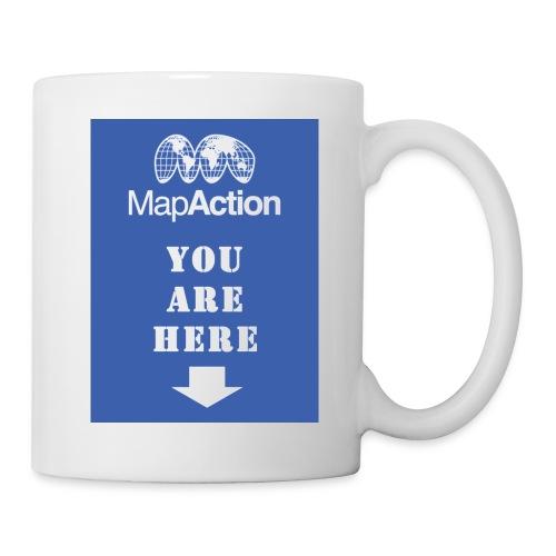 mapaction you are here - Mug