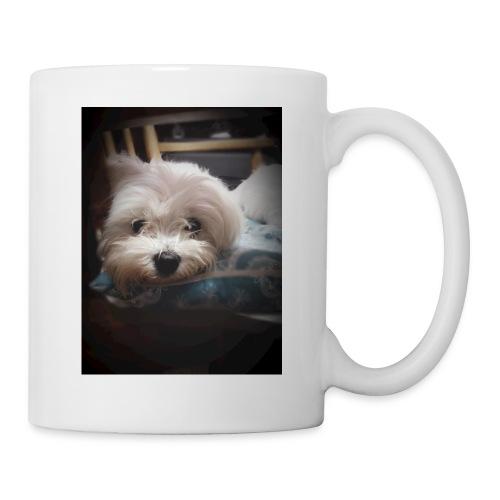 Pure White Pup - Mug