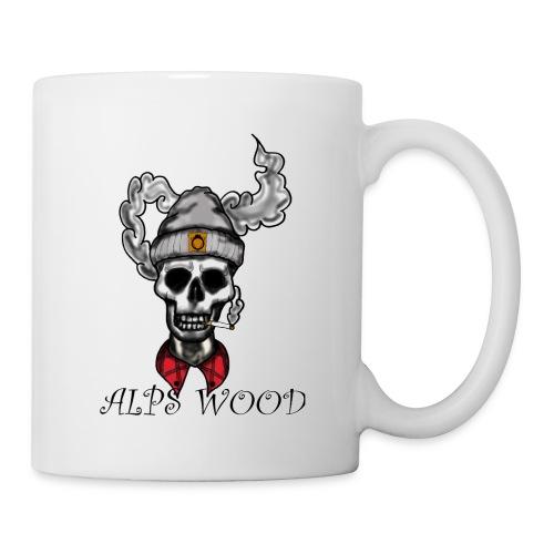 Alps Wood Lumberjack mit Logo - Tasse