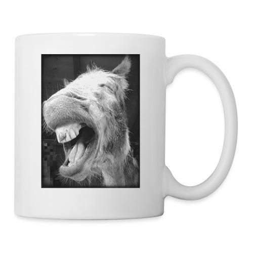 lachender Esel - Tasse