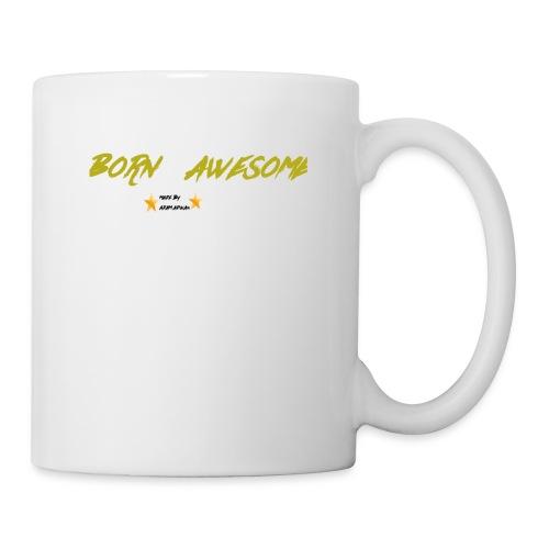 born awesome - Mug