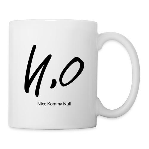Signature/ black/ Nice Komma Null - Tasse