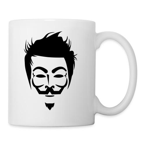 Anonymous Hipster - Mug blanc