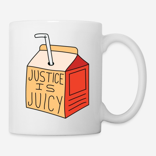 Justice is juicy - Mugg
