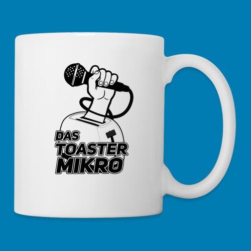Toaster-Mikrofon Logo - Tasse