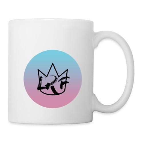 logo lrf rond black casquette - Mug blanc