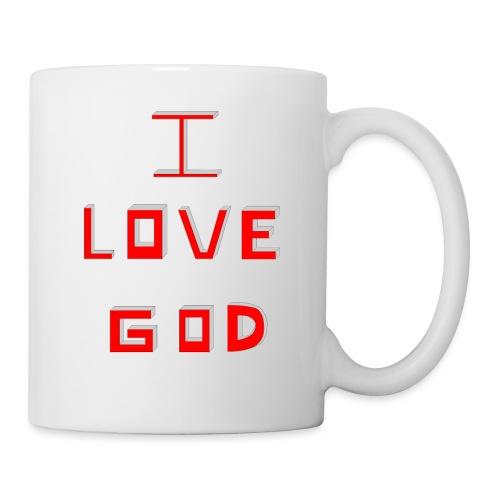 I LOVE GOD - Taza
