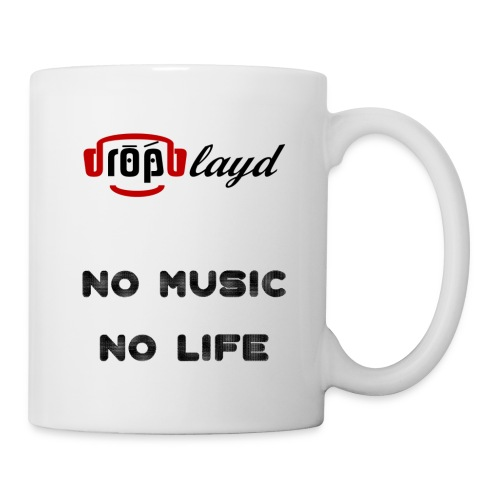 dropblayd Merch - No Music No Life - Tasse