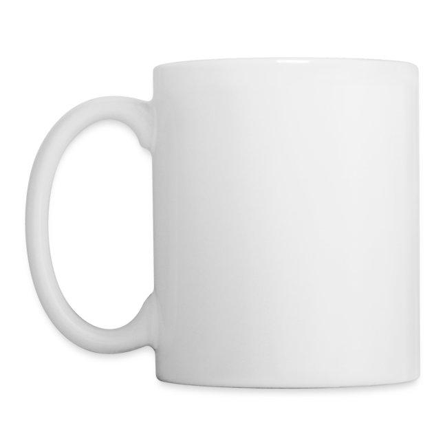 une tasse blanche je t'aime