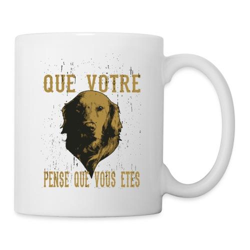 Un amour de chien - Mug blanc