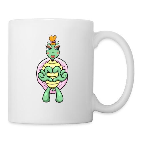 Girlie Turtle/ Schildkröte - Tasse