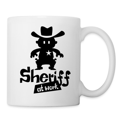 sheriff at work - Tasse