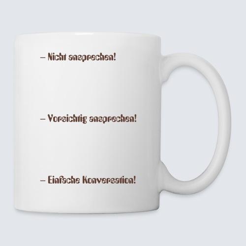 Achtung Kaffeejunky - Tasse