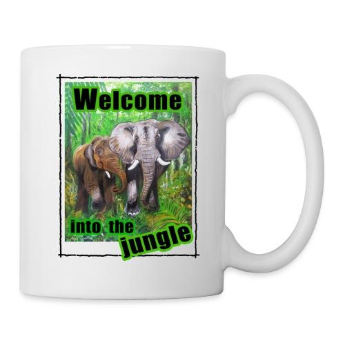 Willkommen im Dschungel - Tasse