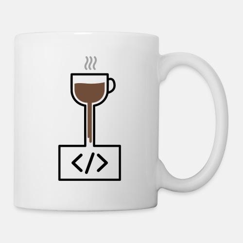 Coffee to Code - Programming T-Shirt - Mug