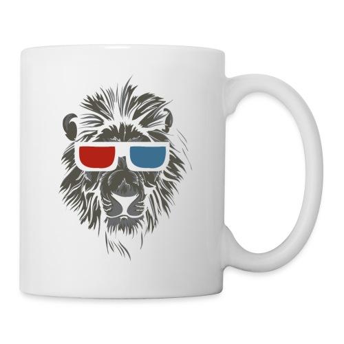 Lion 3D - Mugg