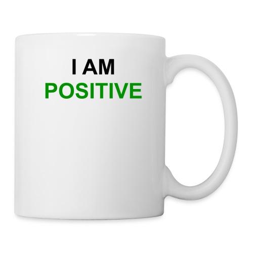 I am positive - Tasse