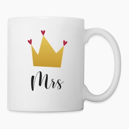 Mrs and Mr with Crown - Mug