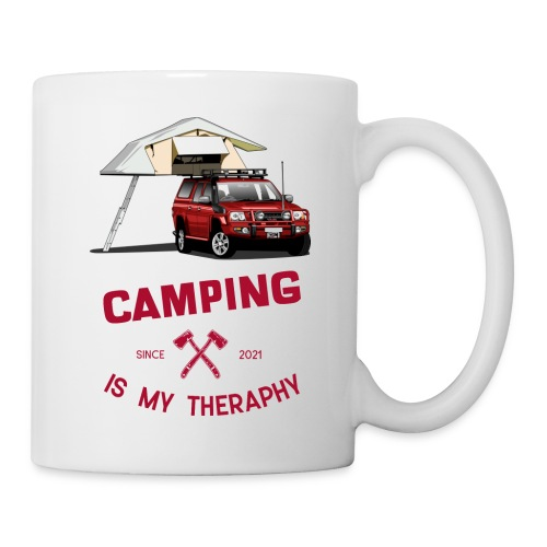 Camping is my Theraphy Dachzelt - Tasse