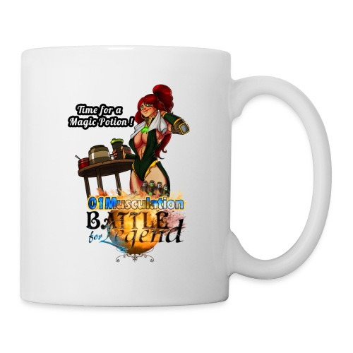 Mythrilisatrice- Battle for Legend X 01Musculation - Mug blanc