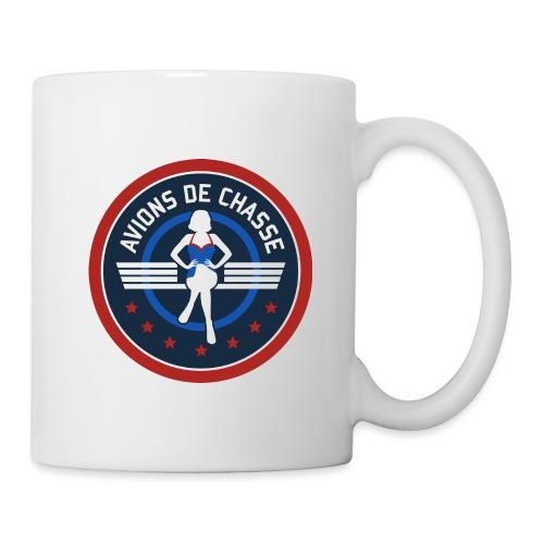 Logo Avions de chasse Accessoires - Mug blanc