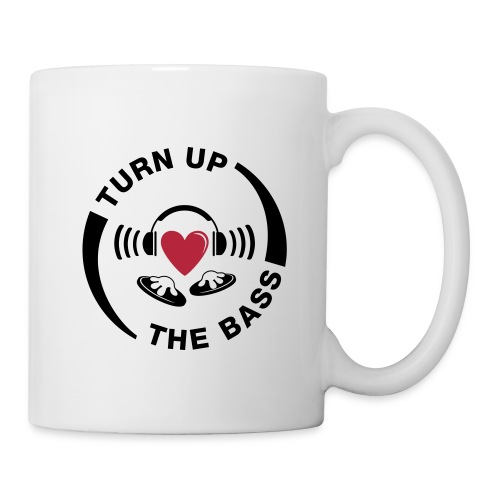 turn_up_the_bass - Mug