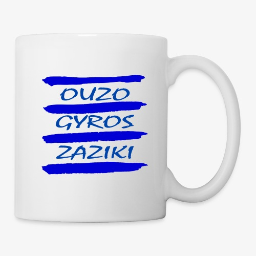 Zaziki Gyros Ouzo - Tasse