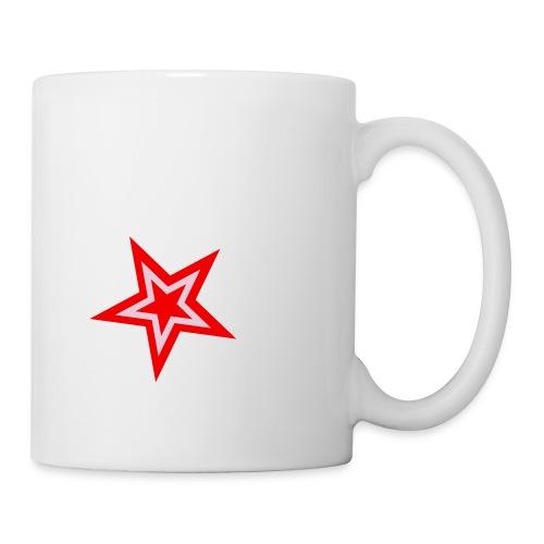 stern 2 farbig - Tasse