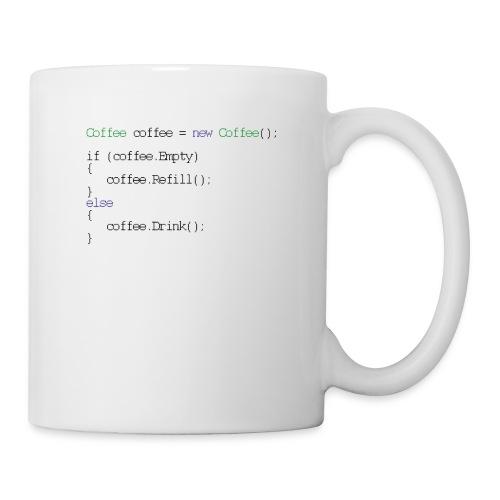 Kaffee Design für Programmierer und Coder - css - Tasse