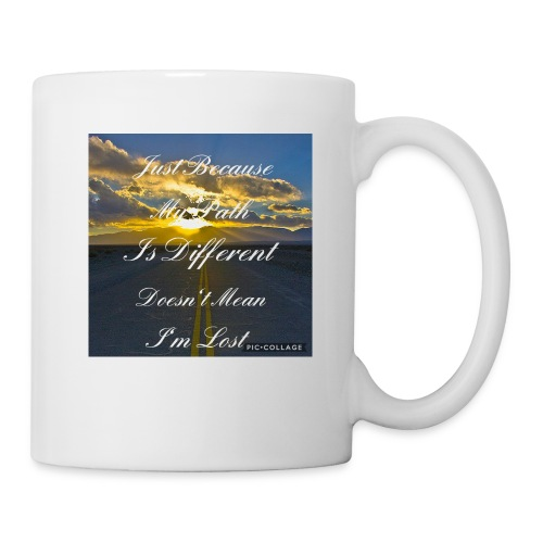 Just because my path - Mug