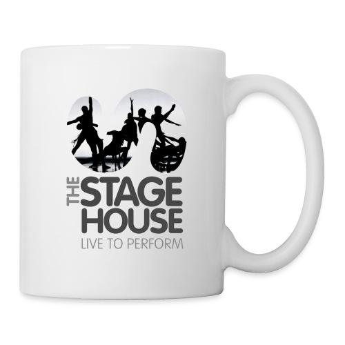 the stage house logo artwork performance - Mug