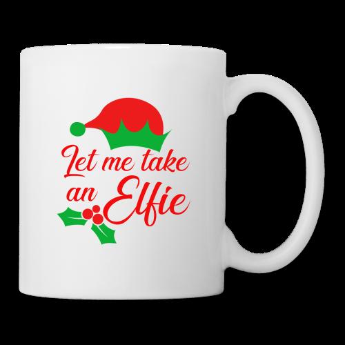 Weihnachten | Elf Mütze Weihnachtself Wortspiel - Tasse