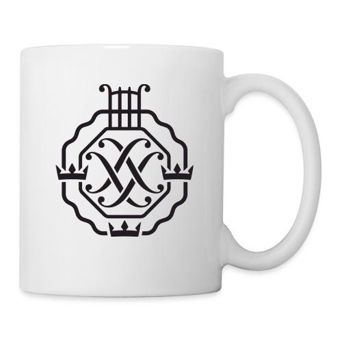 SSSF logo / emblem (svart) - Mugg