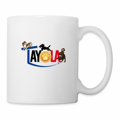 TAYOLA logo 2019 HD - Mug blanc