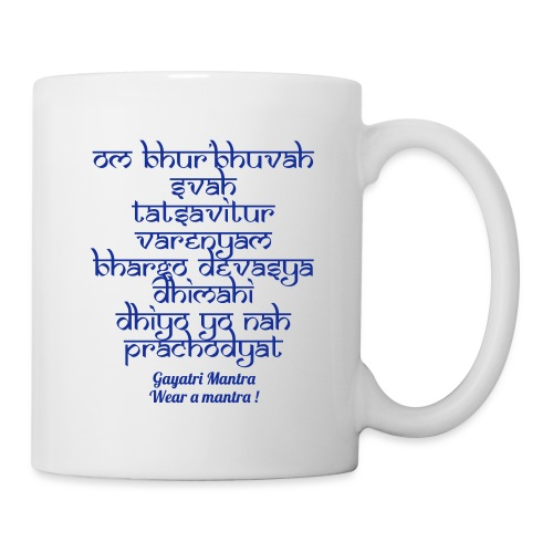 OM Bhur Bhuva Svaha - Tazza