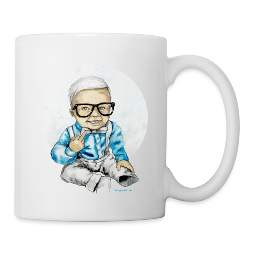 Naughty Boy, carographic - Tasse