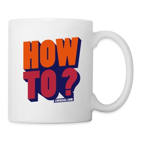 HOW TO BLB - Mug blanc