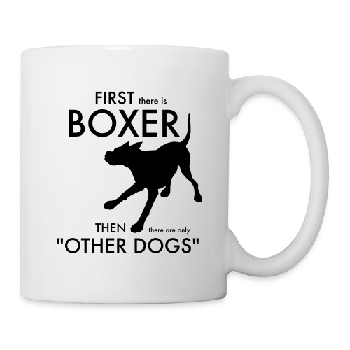 Bella Boxer Dog - Mugg