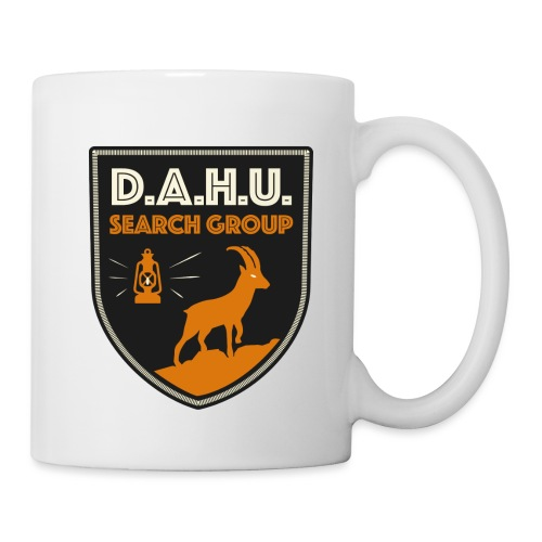 Chasse au dahu - Mug blanc