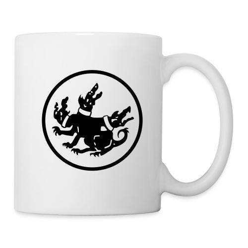 cerberus logo rund - Tasse