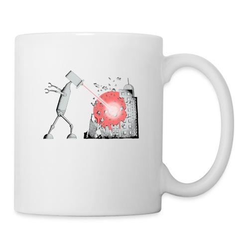 Robot Destroys City - Mug