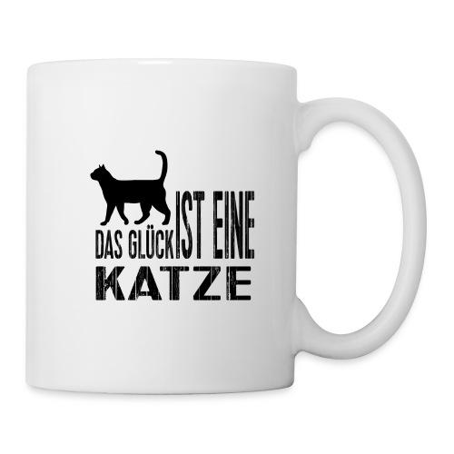 Katze Katzenliebe Cat Katzenglück Geschenkidee - Tasse