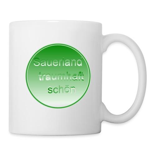Kaffee Becher Natur Grün - Tasse