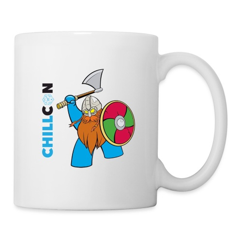 Viking Mascot - Colour - Mug