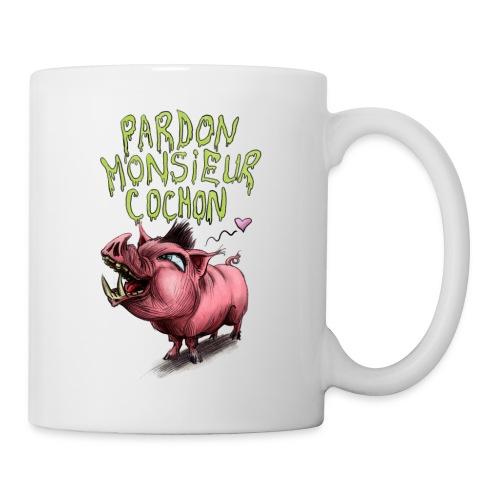 pardonmonsieurcochon - Mug blanc