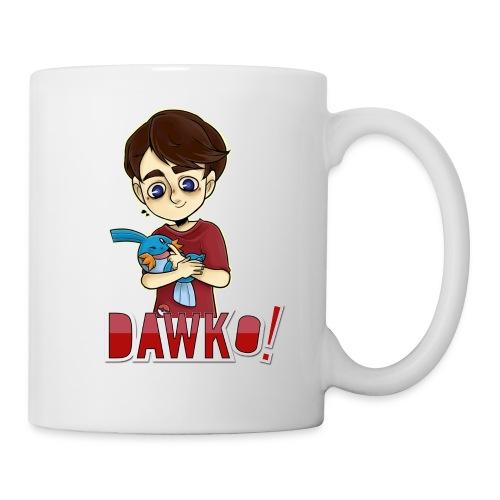 Dawko and mudkip - Mug