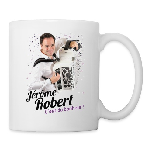 TSHIRT JEROME ROBERT BLANC jpg - Mug blanc