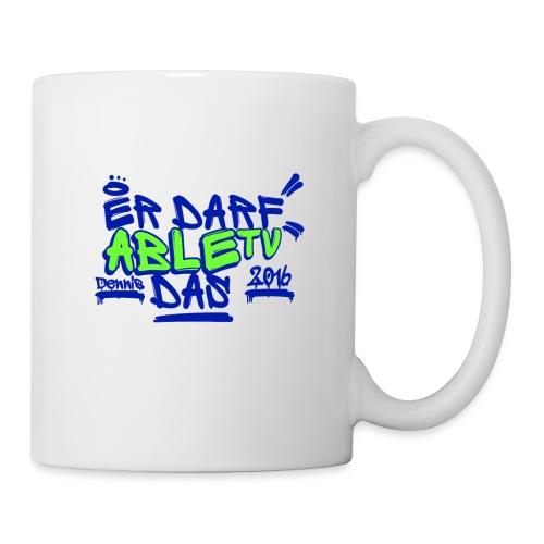 AbleTV Grafitti Logo Marken Shirt (Er Darf Das) - Tasse