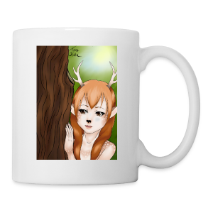 Womens tank: Deer-girl Design by Tina Ditte - Mug