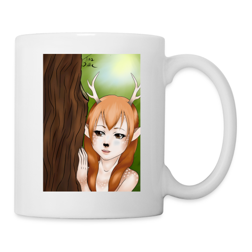 Sam sung s6:Deer-girl design by Tina Ditte - Mug